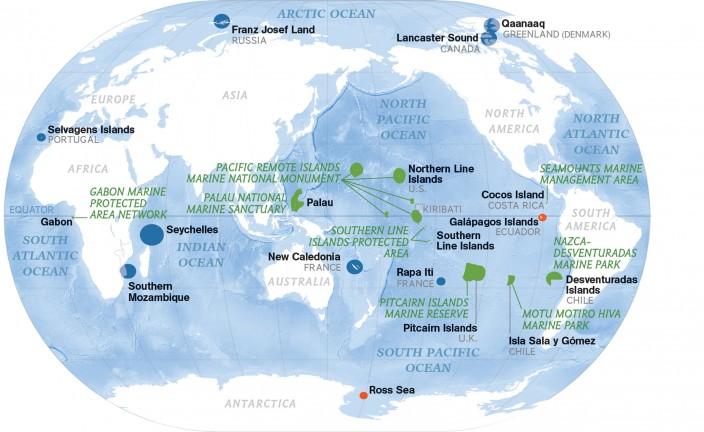 Карта экспедиций Энрика Сала