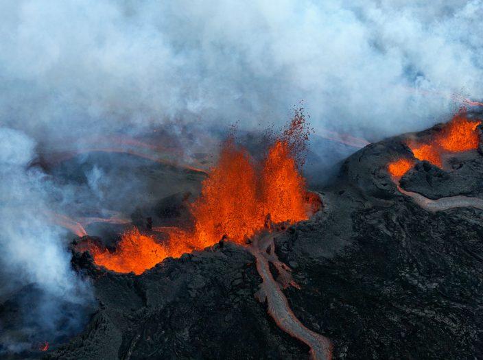 Земля вулканов и ледников