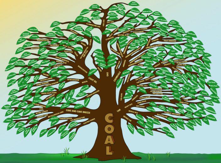 Генеалогическое древо углехимии