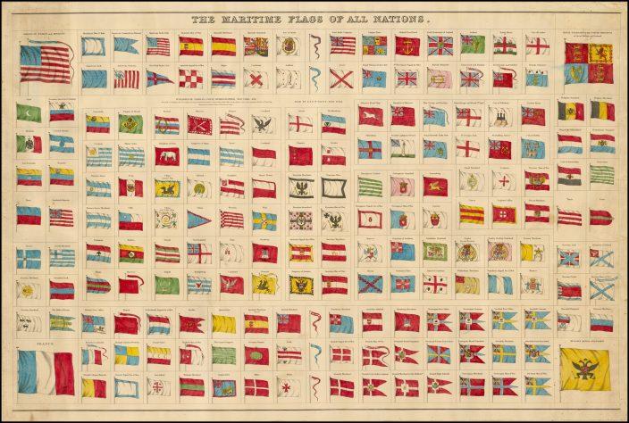 Морские флаги всех наций