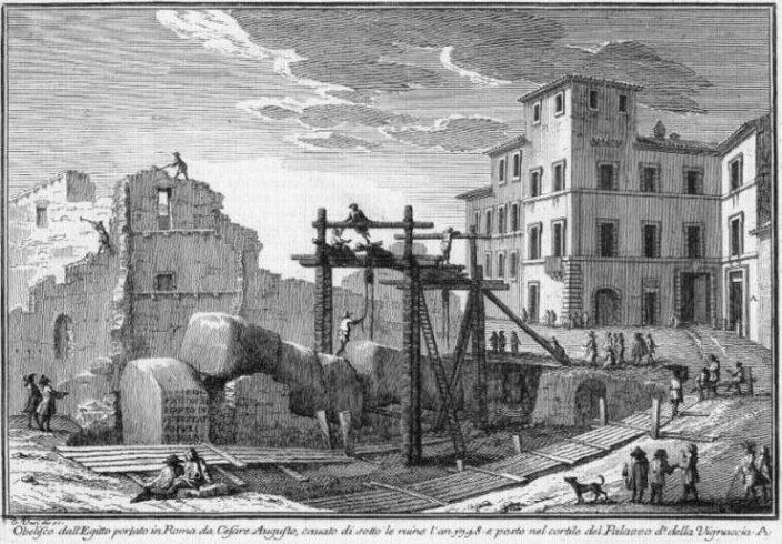 8 древнеегипетских обелисков в Риме