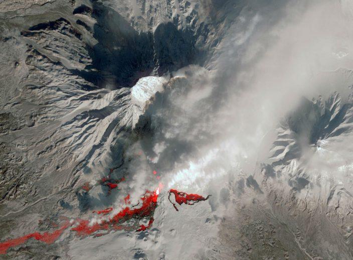 10 спутниковых фотографий России в снегу