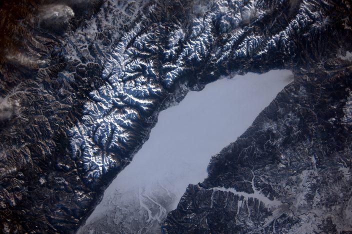 Спутниковые фото Байкала
