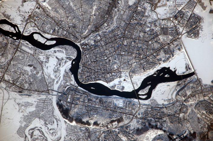 Спутниковые фотографии Иркутска
