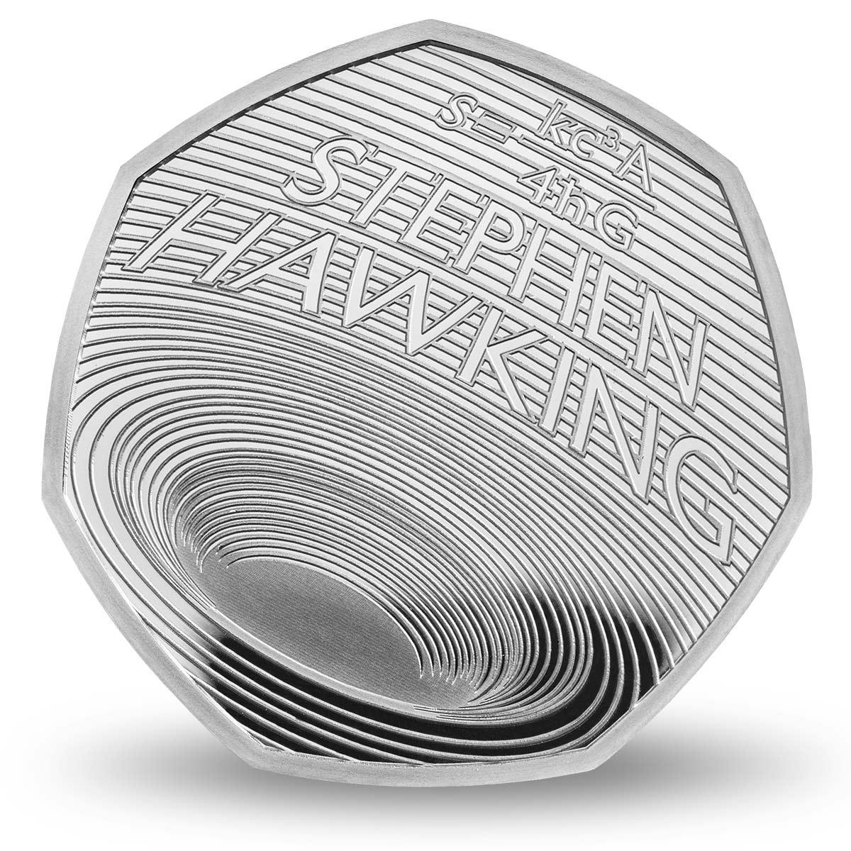 Монета Стивена Хокинга